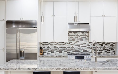 Granite Countertops & Backsplash